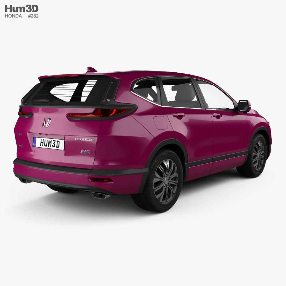 Honda Breeze Sport Turbo 2020 3D model - Vehicles on Hum3D