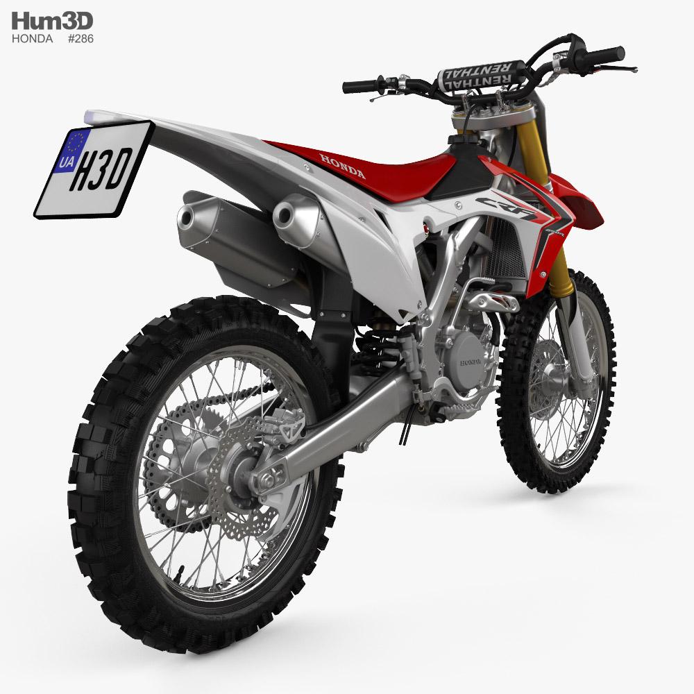 Honda CRF250R 2014 3d model