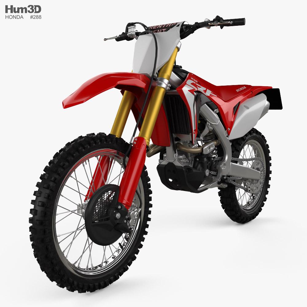 Honda CRF250R 2018 3d model