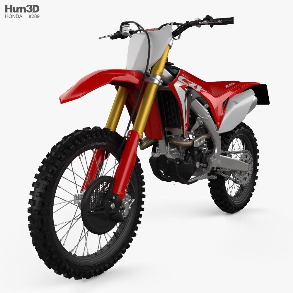 Honda CRF250R 2019 3d model