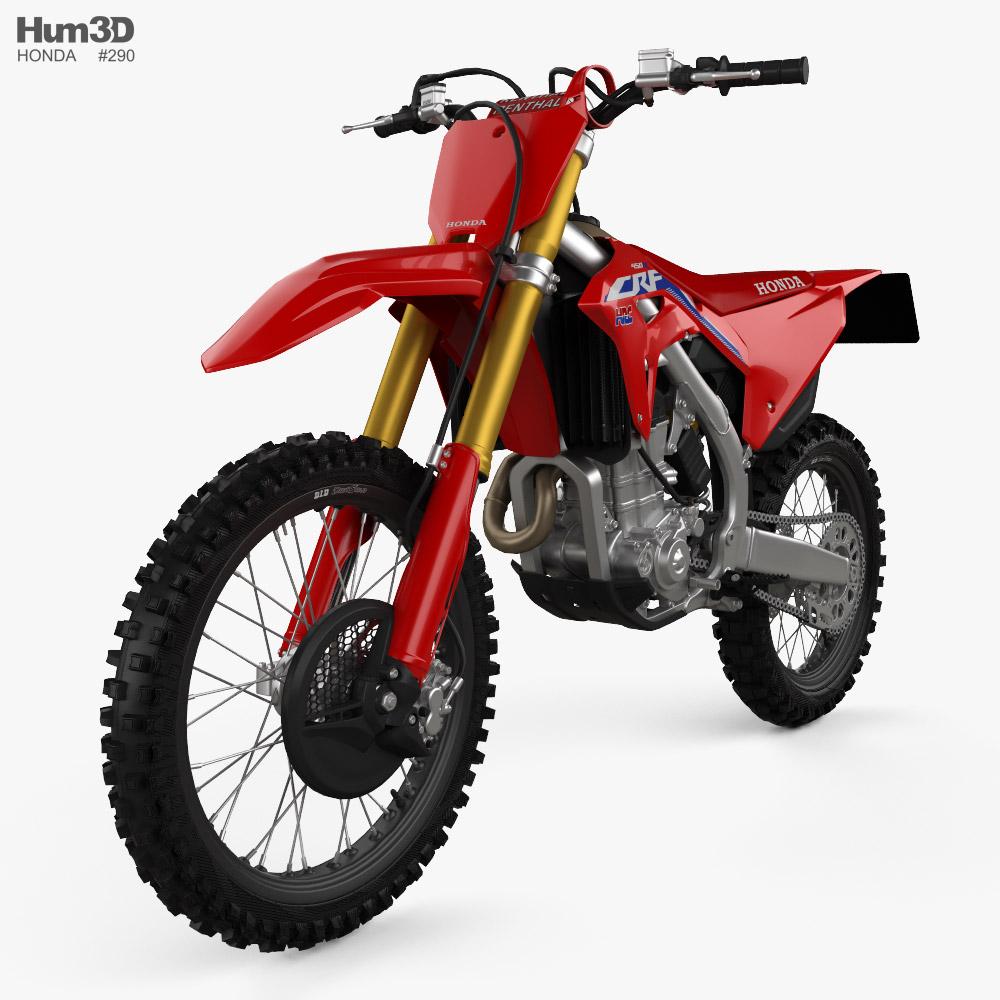 Honda CRF450R 2021 3d model