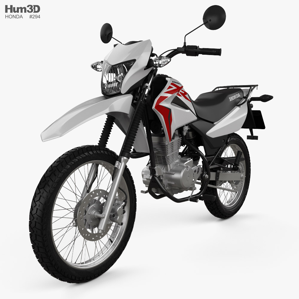 Honda XR150 L 2020 3d model