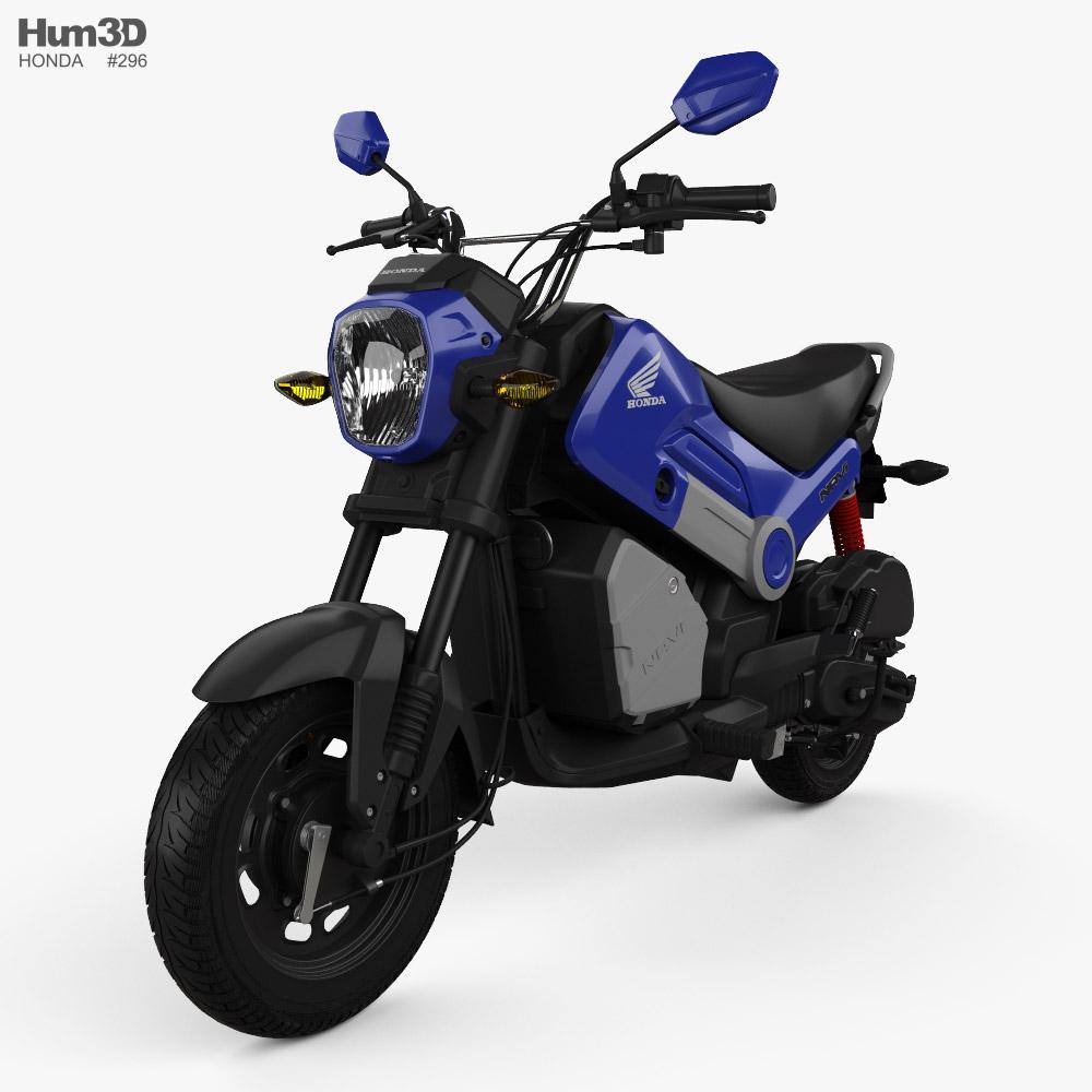 Honda Navi 2020 3d model