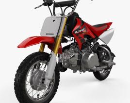 Honda CRF50F 2004 3D model