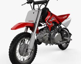 Honda CRF50F 2014 3D model