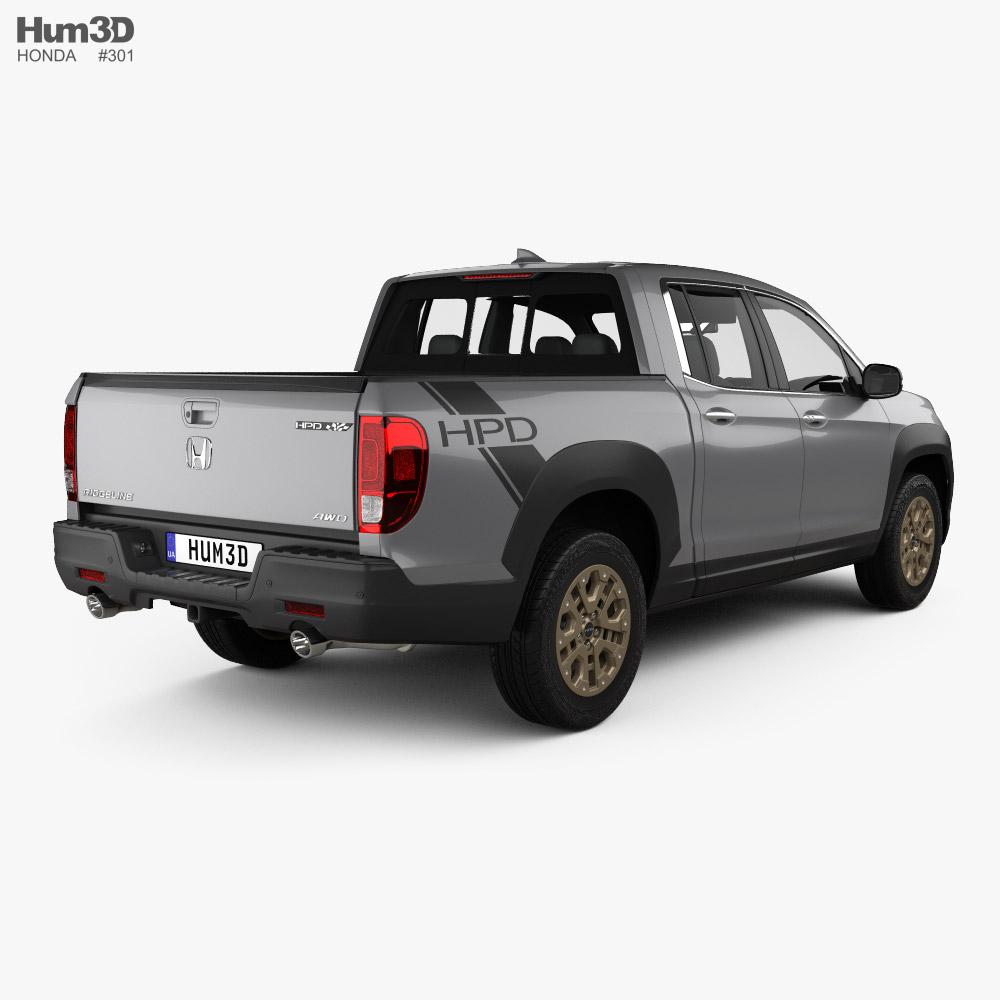 Honda Ridgeline 2021 3d model