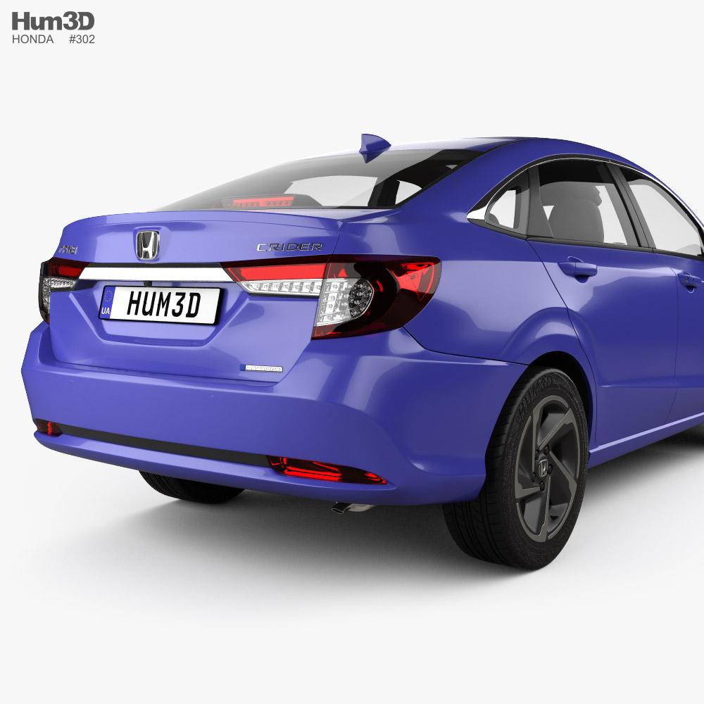 Honda Crider hybrid 2020 3D model - Vehicles on Hum3D