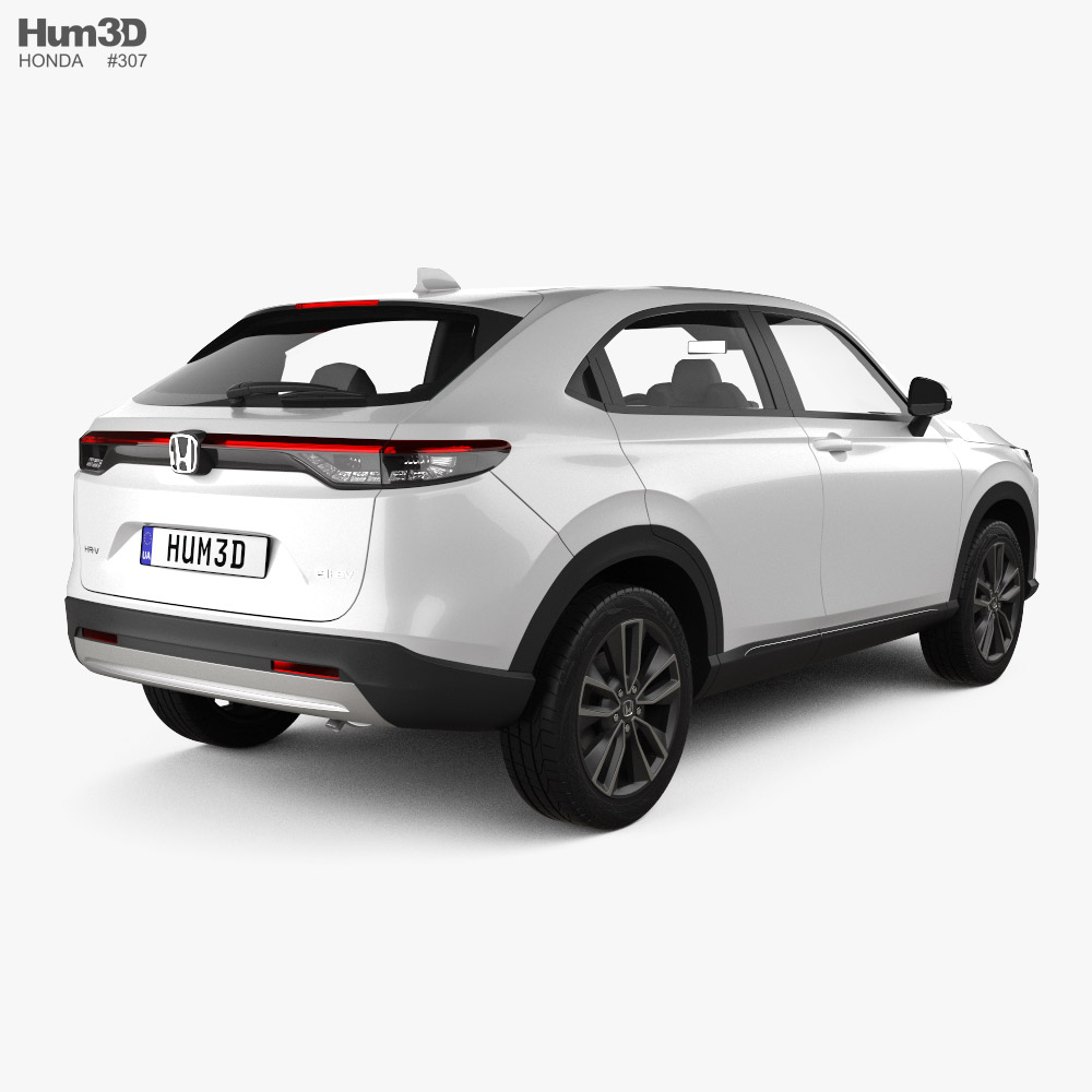 Honda HR-V e-HEV 2022 3d model