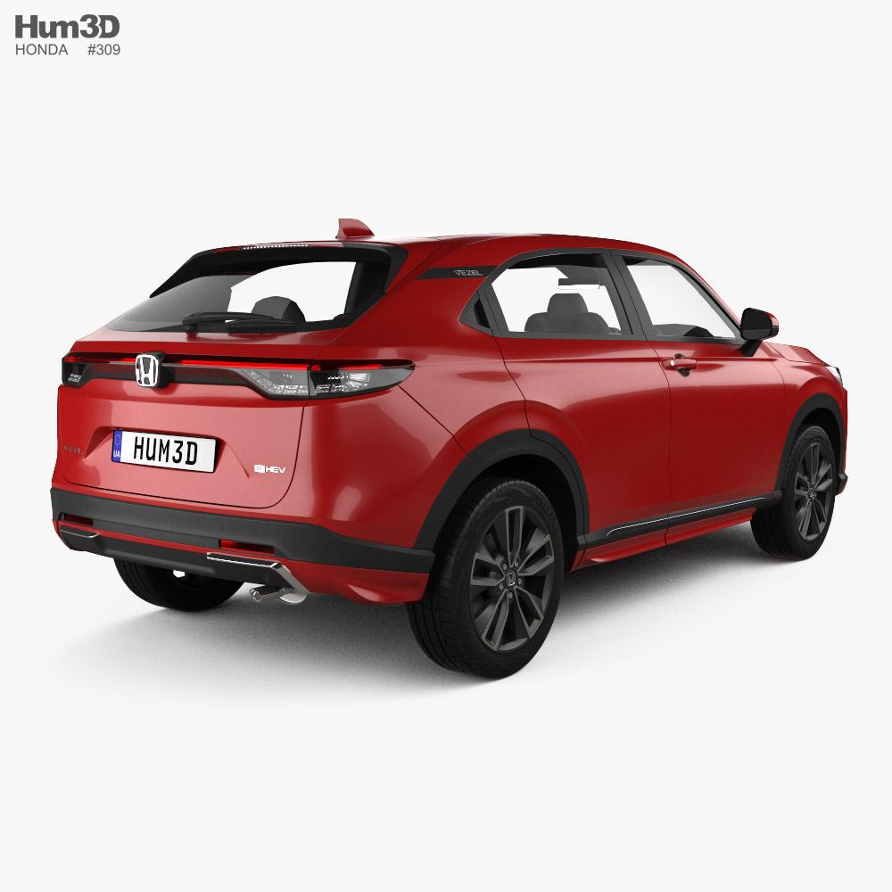 Honda Vezel Urban 2022 3d model