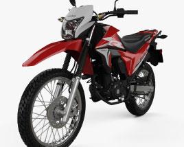 Honda XR190L 2020 3D model