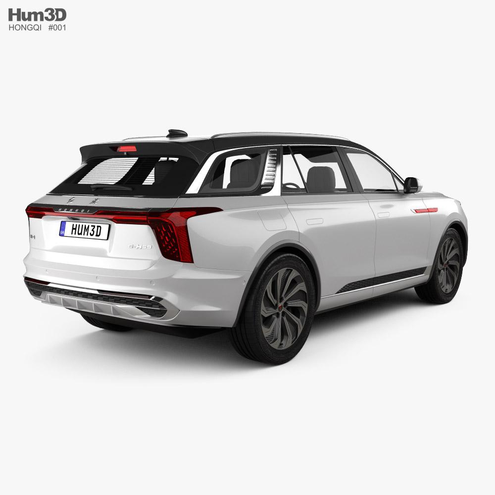 Hongqi E-HS9 2020 3d model