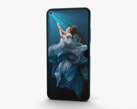 Honor 20 Pro Phantom Blue 3D model
