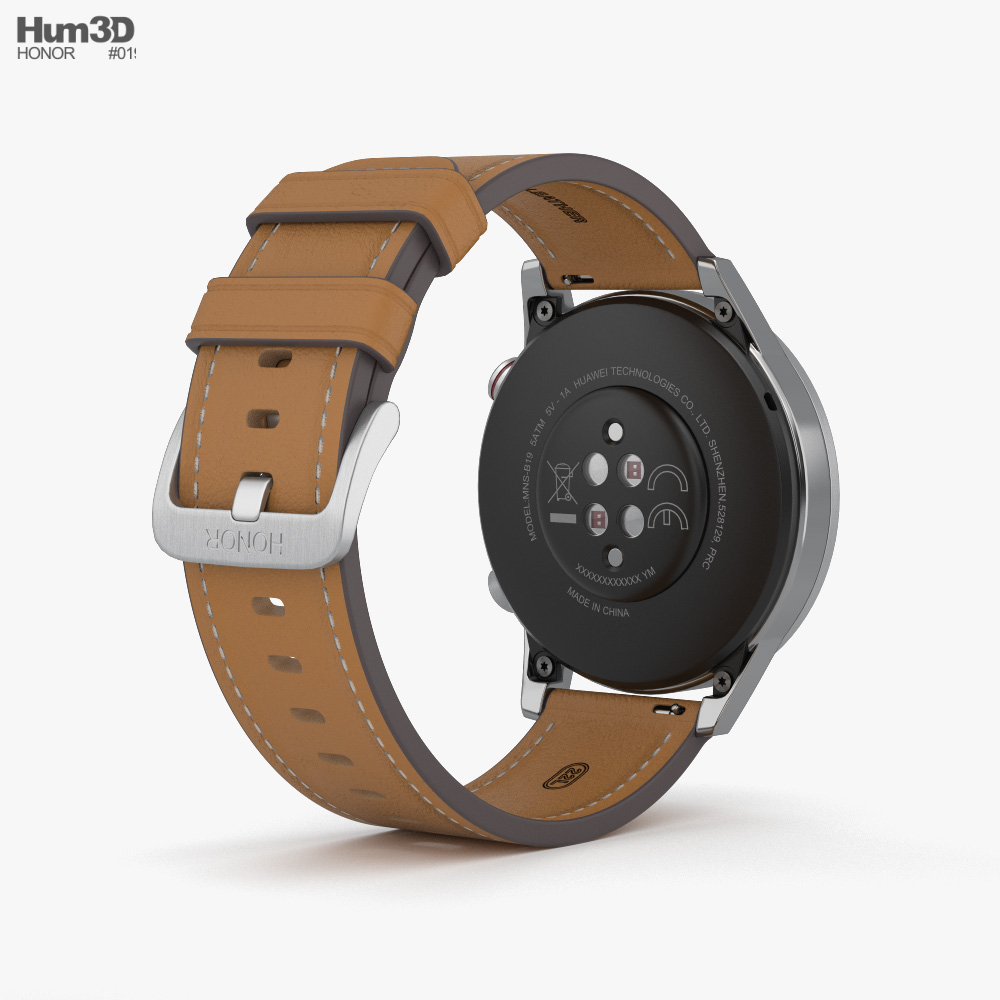 Honor MagicWatch 2 Flax Brown 3d model