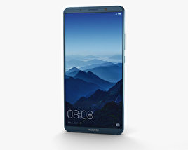 Huawei Mate 10 Pro Midnight Blue 3D model