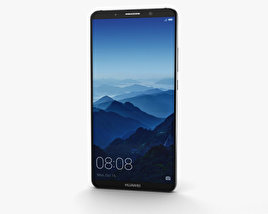 Huawei Mate 10 Pro Titanium Gray 3D model