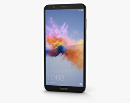 Huawei Honor 7X Black 3D model
