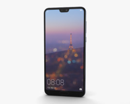 Huawei P20 Pro Midnight Blue 3D model