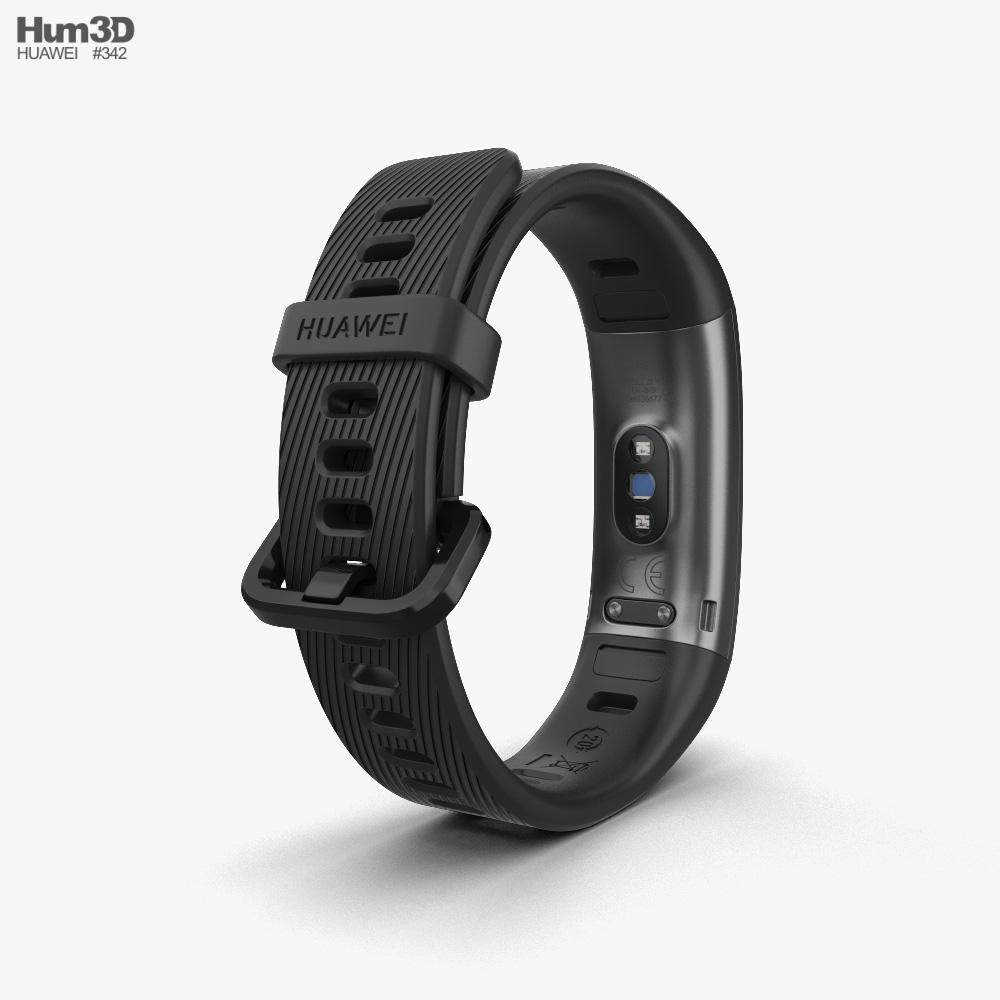 Huawei Band 3 Pro Black 3d model