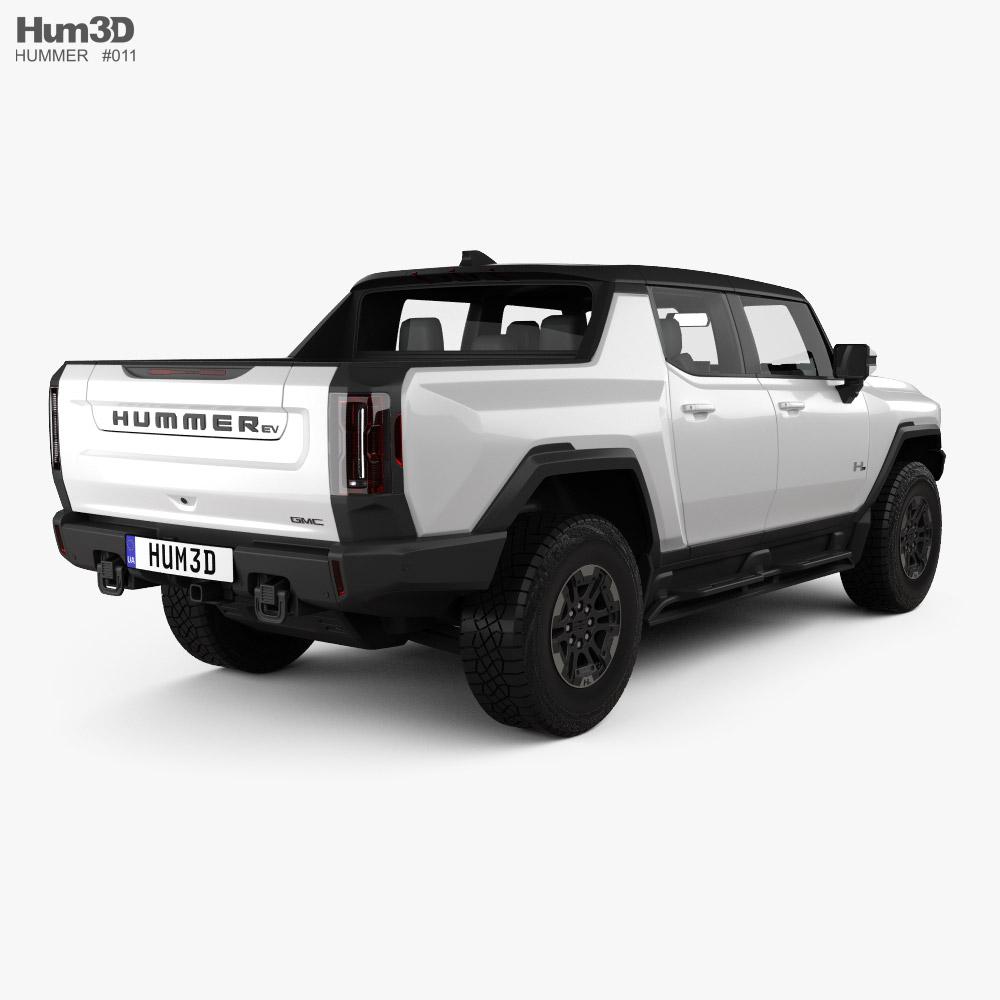 GMC Hummer EV Pickup 2022 3d model