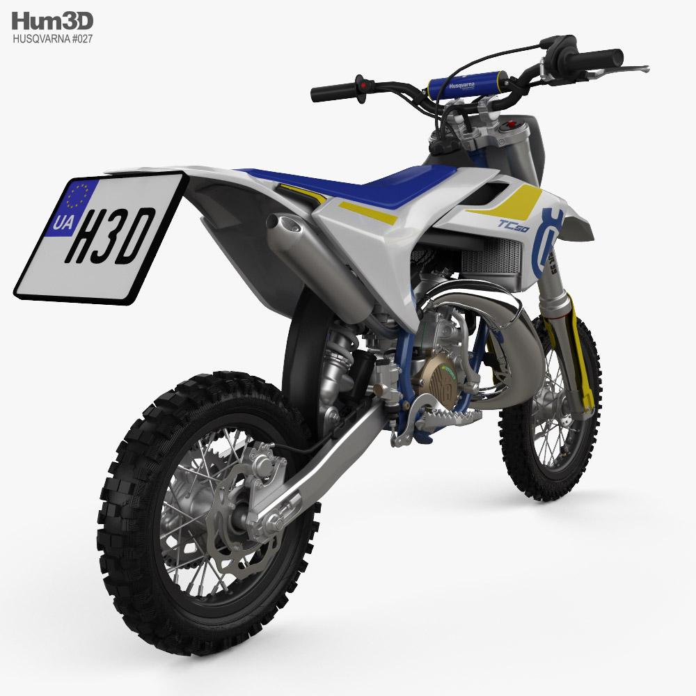 Husqvarna TC 50 2016 3d model