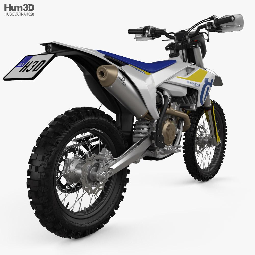 Husqvarna FE250 2019 3d model