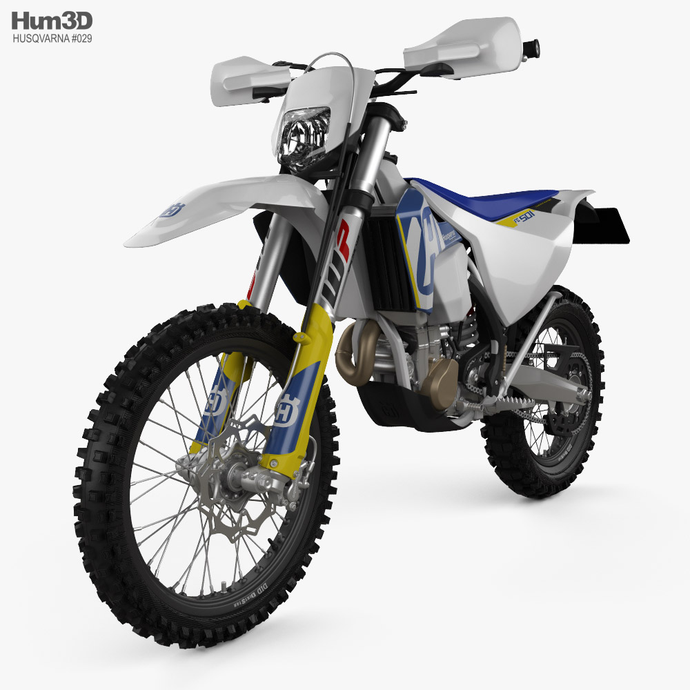 Husqvarna FE501 2017 3d model