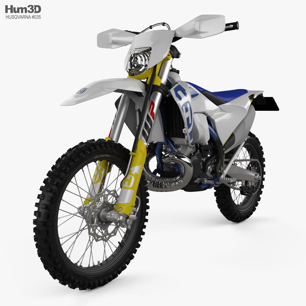 Husqvarna TE250i 2020 3d model