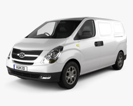 Hyundai H1 iLoad 2010 3D model