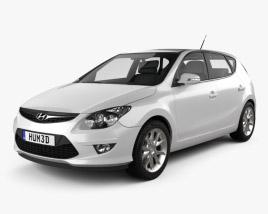 Hyundai i30 2011 3D model