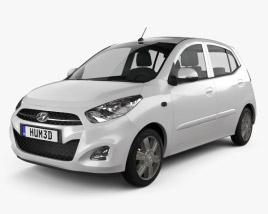 Hyundai i10 2011 3D model