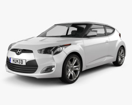 Hyundai Veloster 2012 3D model