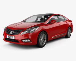 Hyundai Grandeur (HG) 2012 3D model