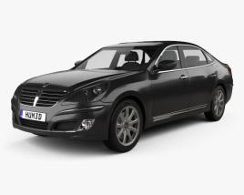 Hyundai Equus (Centennial) 2012 3D model