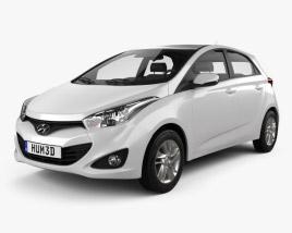 Hyundai HB20 2013 3D model