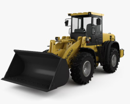 Hyundai HL757-9S Wheel Loader 2012 3D model