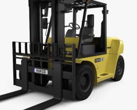 Hyundai 70DS-7E Forklift 2012 3D model