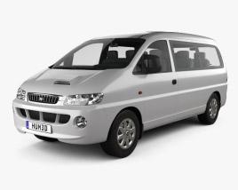 Hyundai H-1 Passenger Van 1997 3D model