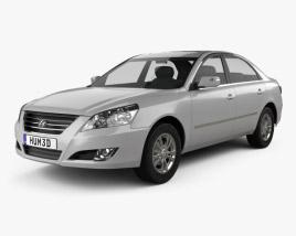 Hyundai Sonata Ling Xiang (CN) 2008 3D model