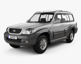 Hyundai Terracan 2004 3D model