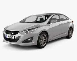 Hyundai i40 sedan (EU) 2012 3D model