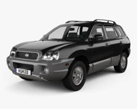 Hyundai Santa Fe (SM) 2004 3D model