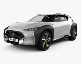 Hyundai Enduro 2015 3D model