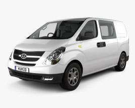 Hyundai iLoad with HQ interior 2010 3D model