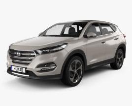 Hyundai Tucson 2016 3D model