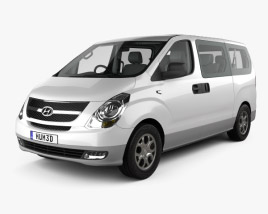 Hyundai iMax with HQ interior 2010 3D model