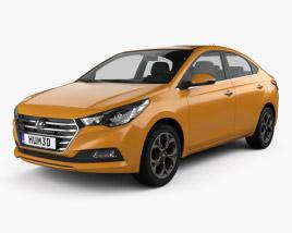 Hyundai Verna (Accent) 2017 3D model
