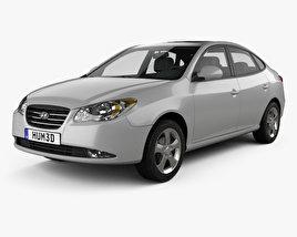 Hyundai Elantra (HD) 2007 3D model