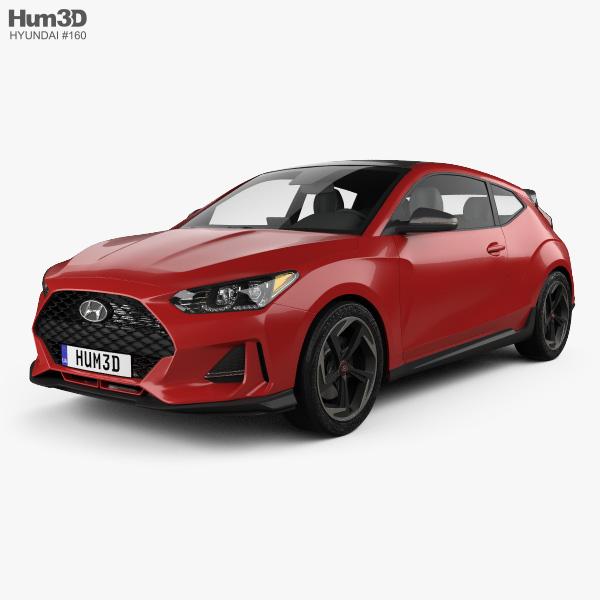 Hyundai Veloster 2019 3D Model