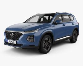 Hyundai Santa Fe (TM) 2019 3D model