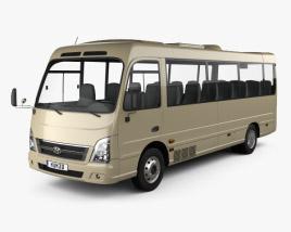 Hyundai County Bus 2018 3D model